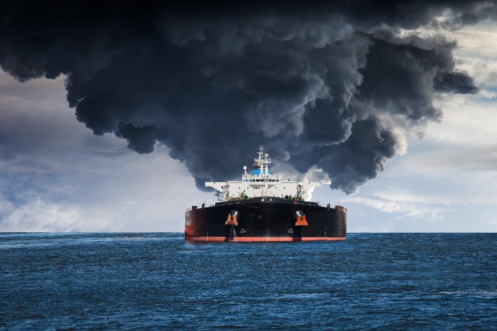 Tanker on fire-1