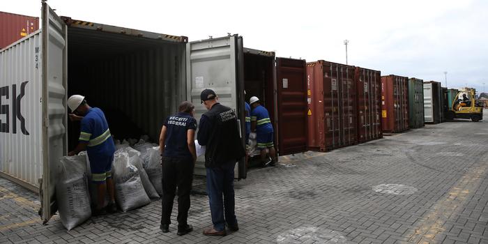 cargo container drugs